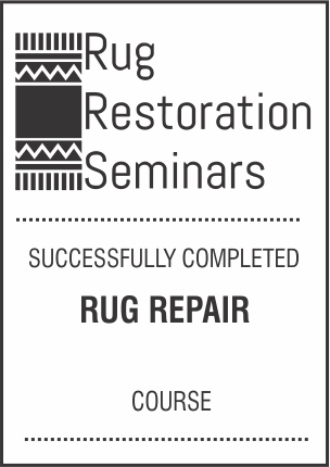 Rug Restoration Seminars Rug Repair